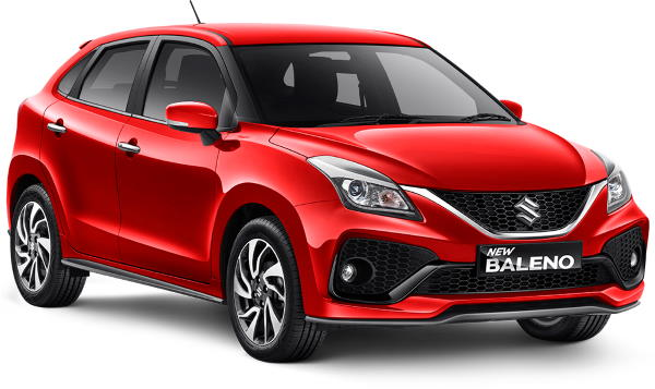 SOLID FIRE RED BALENO